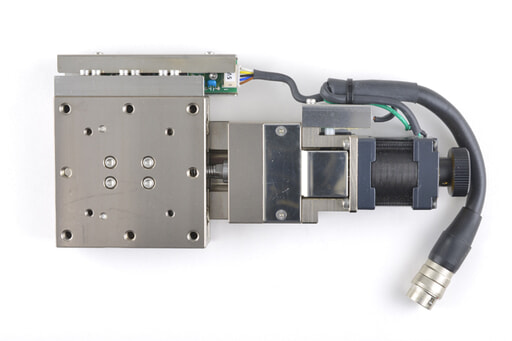 駿河精機 自動X軸ステージ PG615-L05AG