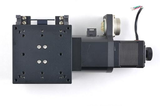 駿河精機 自動X軸ステージ KS102-30(コネクタ未配線)
