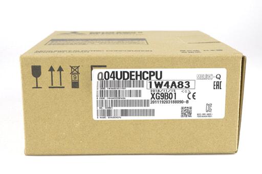 三菱 CPUユニット Q04UDEHCPU (18年製)