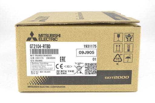 三菱 表示器 GT2104-RTBD (19年3月製)