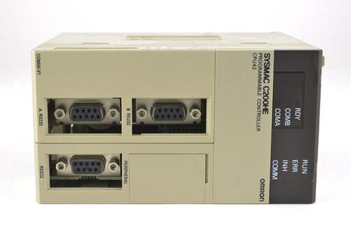オムロン プログラマブルコントローラー C200HE-CPU42 (99年7月9日製)