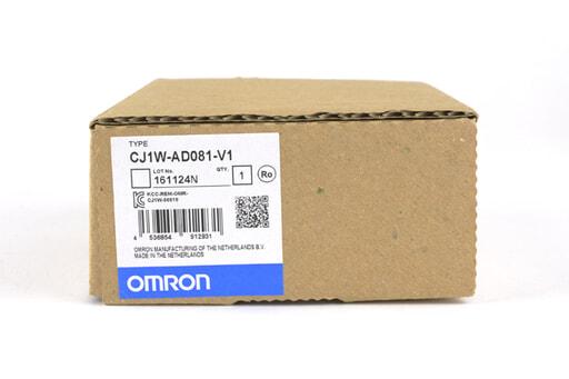 オムロン 入出力ユニット CJ1W-AD081-V1