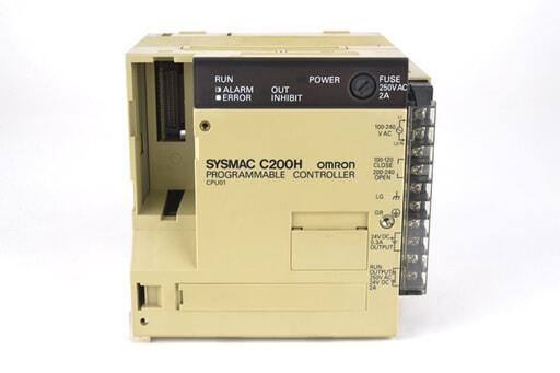 オムロン CPUユニット C200H-CPU01 (91年2月製)