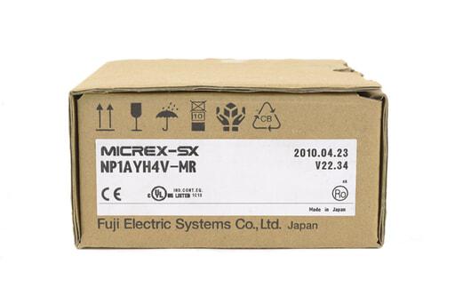 富士電機 アナログ出力モジュール NP1AYH4V-MR (10年4月製)