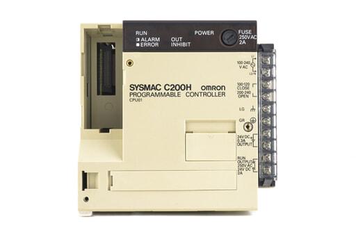 オムロン CPUユニット C200H-CPU01 (87年11月製)
