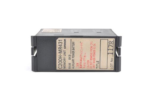 オムロン メモリユニット C200H-MR431 (88年7月製)