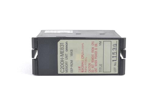 オムロン メモリユニット C200H-ME831 (03年5月製)
