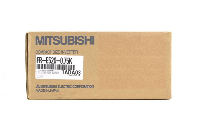 三菱 インバータ FR-E520-0.75K (03年2月製)