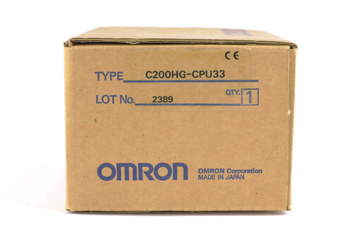 オムロン CPUユニット C200HG-CPU33 (99年8月23日製)