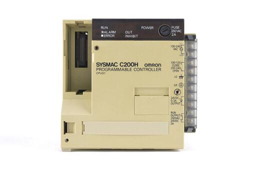 オムロン CPUユニット C200H-CPU01 (89年7月製)