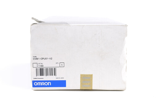 オムロン CPUユニット CVM1-CPU01-V2 (03年3月製)