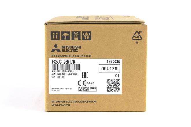 三菱 CPUユニット FX5UC-96MT/D (19年9月製)