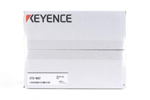 キーエンス タッチパネル VT5-W07