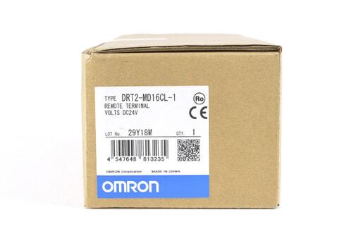 オムロン リモートI/Oターミナル DRT2-MD16CL-1 (18年11月29日製)