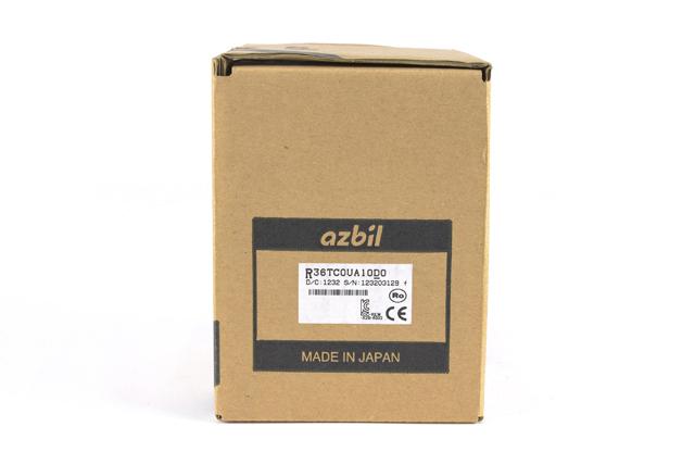 アズビル 指示調節計 R36TC0UA10D0 (12年8月3日製)