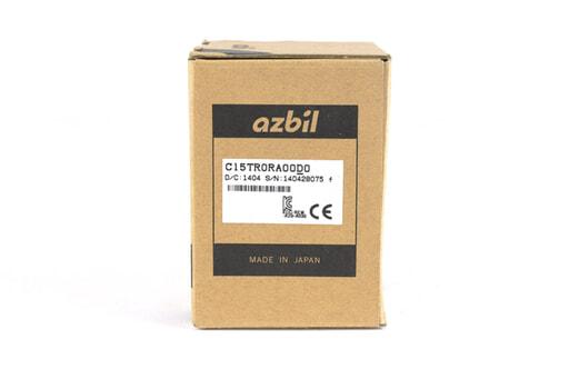 アズビル 指示調節計 C15TR0RA00D0 (14年1月28日製)