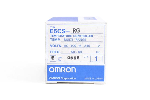 オムロン デジタル指示温度調節器 E5CS-RG