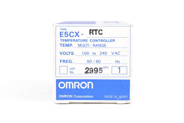 オムロン デジタル指示温度調節器 E5CX-RTC