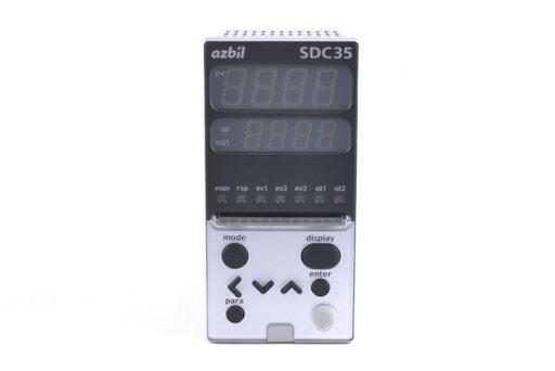 アズビル 指示調節計 C35TC0UA14D0 (15年2月23日製)