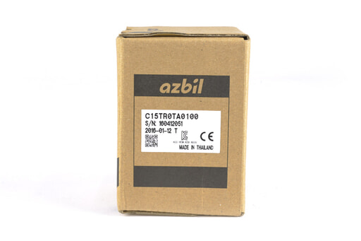 アズビル 指示調節計 C15TR0TA0100 (16年1月12日製)