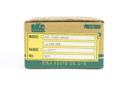 理化工業 指示調節計 REX-F4WD3-MM*2N