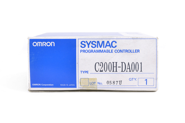 オムロン アナログ出力ユニット C200H-DA001 (97年8月製)