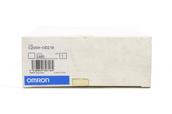 オムロン トランジスタ出力ユニット C200H-OD219 (00年8月製)