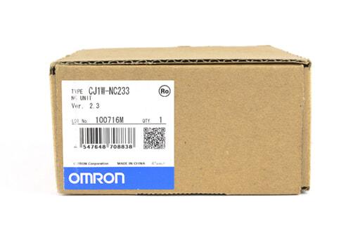 オムロン 位置制御ユニット CJ1W-NC233 (10年7月製)