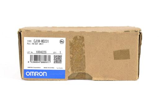 オムロン 入出力ユニット CJ1W-MD231 (10年4月製)