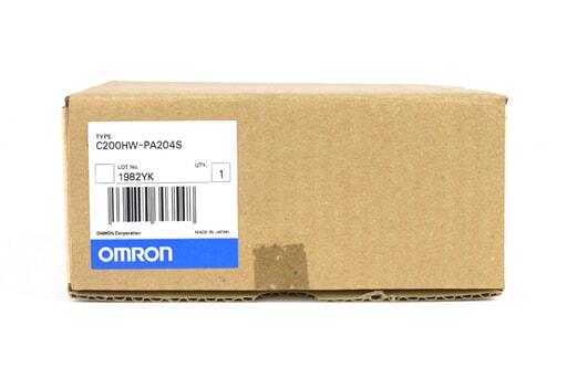 オムロン 電源ユニット C200HW-PA204S (02年8月製)