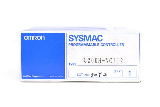オムロン 位置制御ユニット C200H-NC112 (92年11月製)