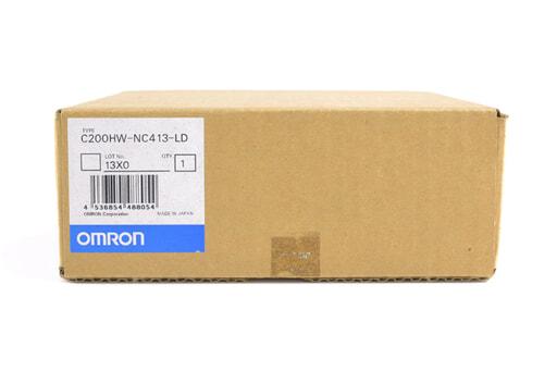 オムロン 位置制御ユニット C200HW-NC413-LD (00年10月製)