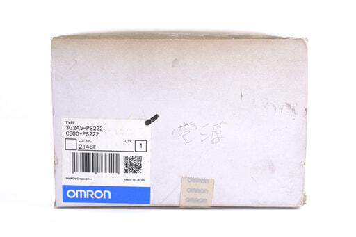 オムロン 電源ユニット C500-PS222 (08年4月製・ショートバーなし)
