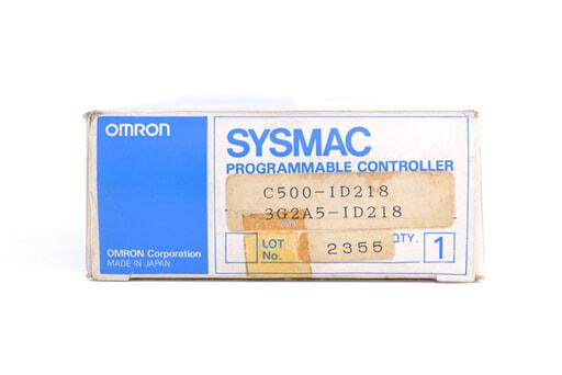 オムロン 入力ユニット C500-ID218 (95年5月製)