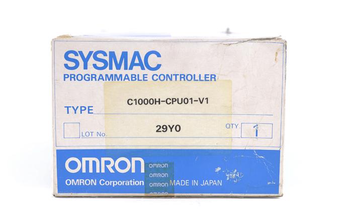 オムロン CPUユニット C1000H-CPU01-V1 (00年11月製)