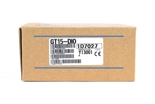三菱 入出力ユニット GT15-DIO (10年11月製)