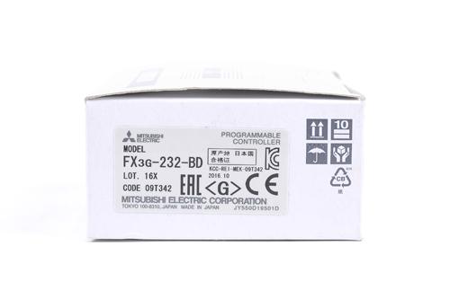 三菱 RS-232C通信用機能拡張ボード FX3G-232-BD  (16年10月製)