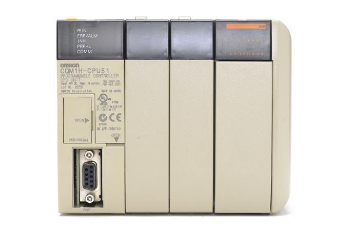 オムロン CPUユニット CQM1H-CPU51 (03年12月製)