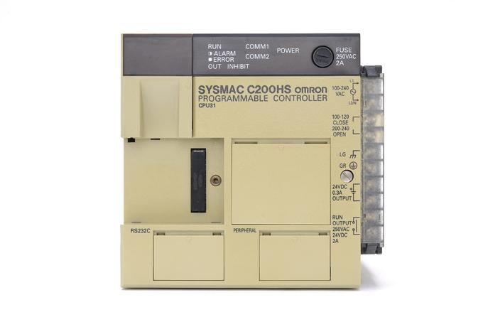 オムロン CPUユニット C200HS-CPU31 (01年12月製)