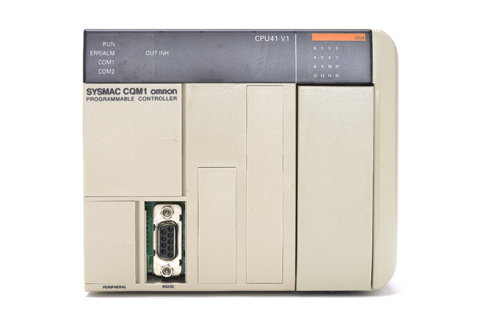 オムロン CPUユニット CQM1-CPU41-V1 (97年8月製)