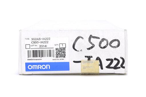オムロン 出力ユニット C500-IA222 (04年1月製)