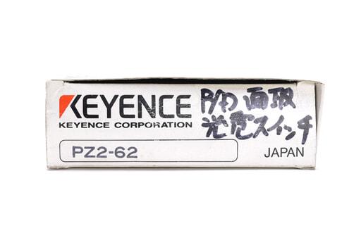 キーエンス アンプ内蔵型光電センサ(回帰反射型) PZ2-62