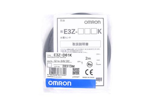 オムロン 光電センサ E3Z-D61K (2m)