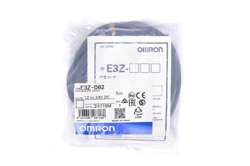 オムロン 光電センサ E3Z-D62 (5m)