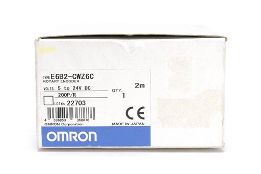 オムロン ロータリーエンコーダ E6B2-CWZ6C 200P/R (2m)