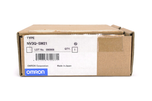オムロン 表示器 NV3Q-SW21 (09年9月製)