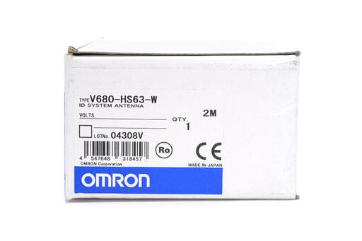 オムロン RFIDシステム アンテナ V680-HS63-W (2m)