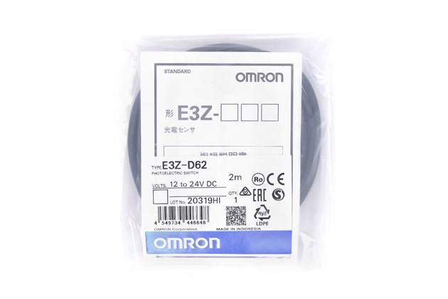 オムロン 光電センサ E3Z-D62 (2m)