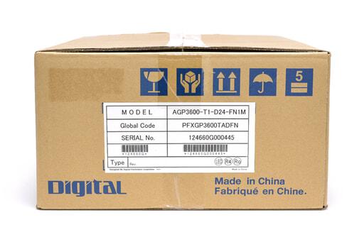 デジタル 表示器 AGP3600-T1-D24-FN1M (13年9月製)