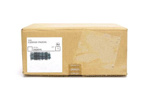 オムロン 電源ユニット C200HW-PA204S (06年12月製)